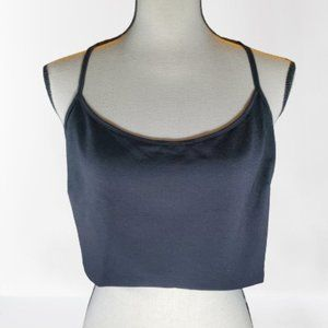 Janette Plus Black Crop Top Size: Extra Small